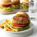 Air-Fryer Tuna Burgers