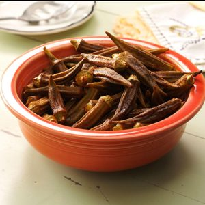 Air-Fryer Okra with Smoked Paprika