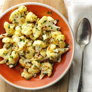 Air-Fryer Herb and Lemon Cauliflower