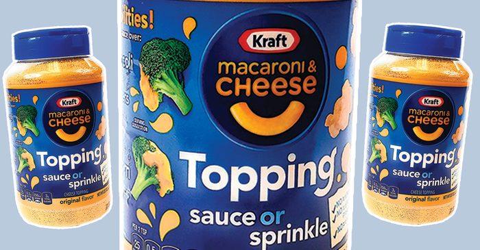 Kraft Macaroni & Cheese Powder social crop