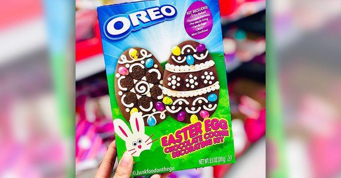 oreo easter egg decorating kit social