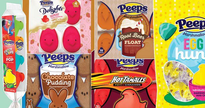 peeps 5 new flavors