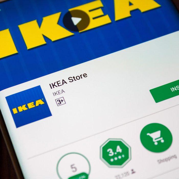 IKEA app website online shopping