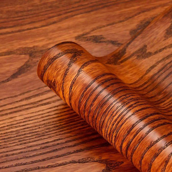 wood grain self adhesive paper