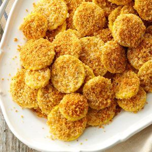 Breaded Air-Fryer Summer Squash