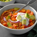 Carrot and Lentil Chili