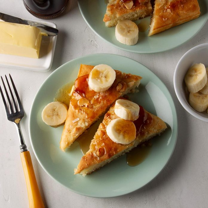 Coconut-Macadamia Sheet Pan Pancakes