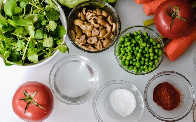 Overhead ingredients