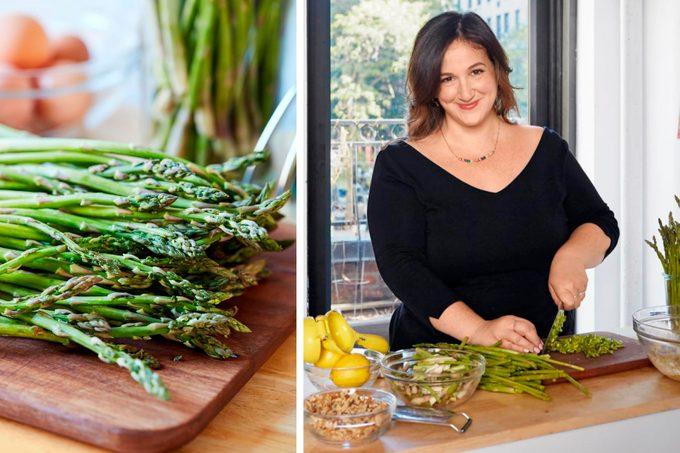 Deb Perelman chopping asparagus 2 1200x800