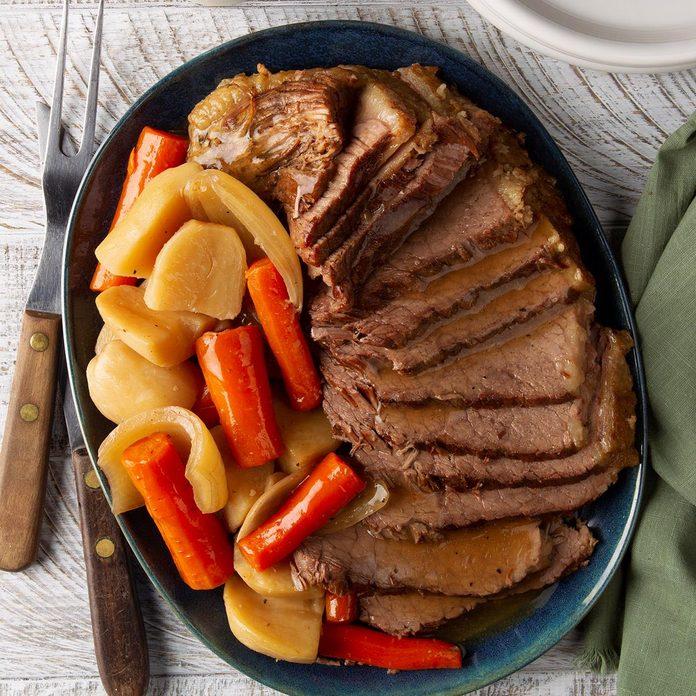 Easy Slow-Cooker Pot Roast