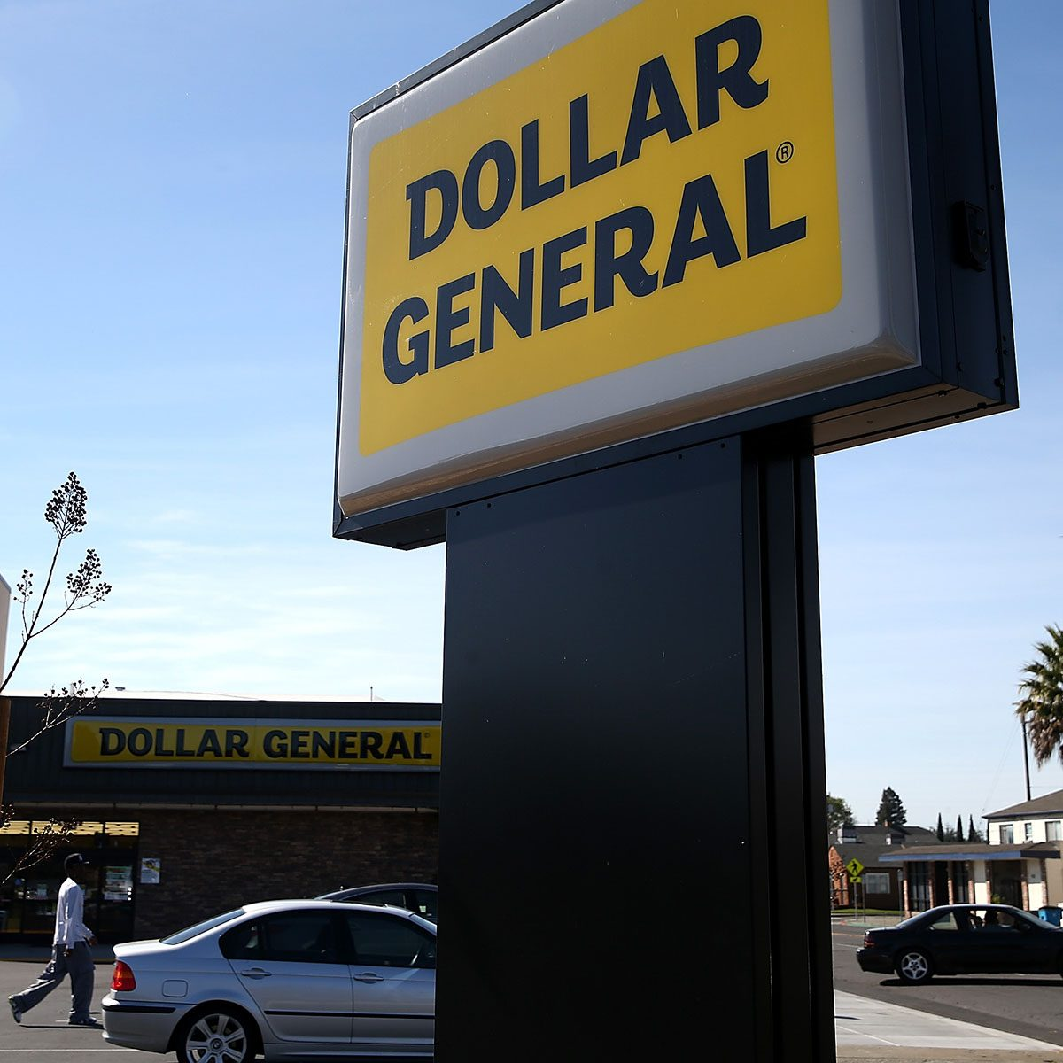 VALLEJO, CA - MARCH 12: A sign is posted in front of a Dollar General store on March 12, 2015 in Vallejo, California. Dollar General Stores Inc. announced plans to open over 700 new stores in 2015 in an attempt to improve on its position among discount retailers in the United States. (Photo by Justin Sullivan/Getty Images)