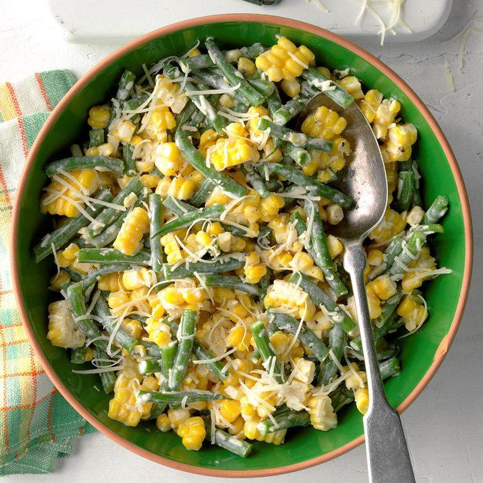 Corn and Green Bean Salad