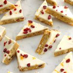 Orange Cranberry Cookie Bars
