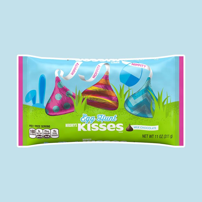 best easter candy Hershey Kisses, Easter Egg Hunt Milk Chocolate Candy