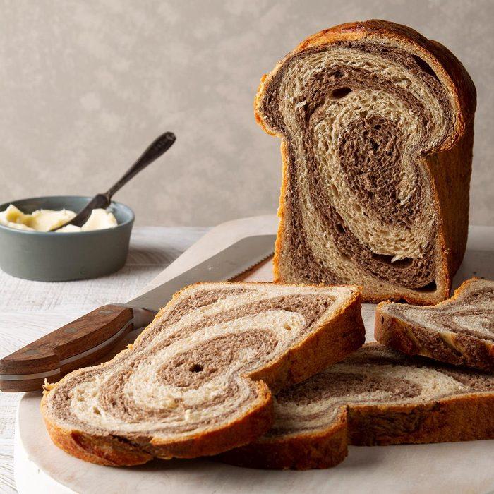 Josh's Marbled Rye Bread