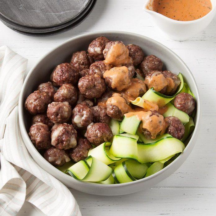 Keto Meatballs And Sauce Exps Ft19 231162 F 0725 1 Basedon 2