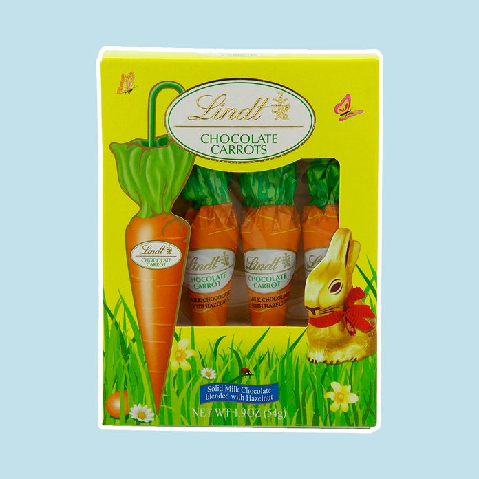 best easter candy Lindt Chocolate Carrots