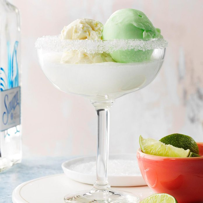 Margarita Float Cocktails