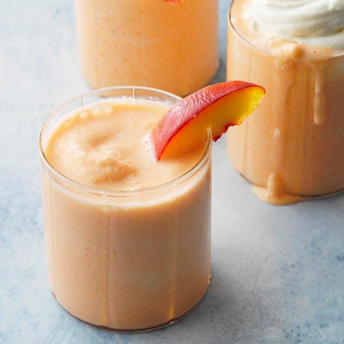 Fizzy Peach Shake