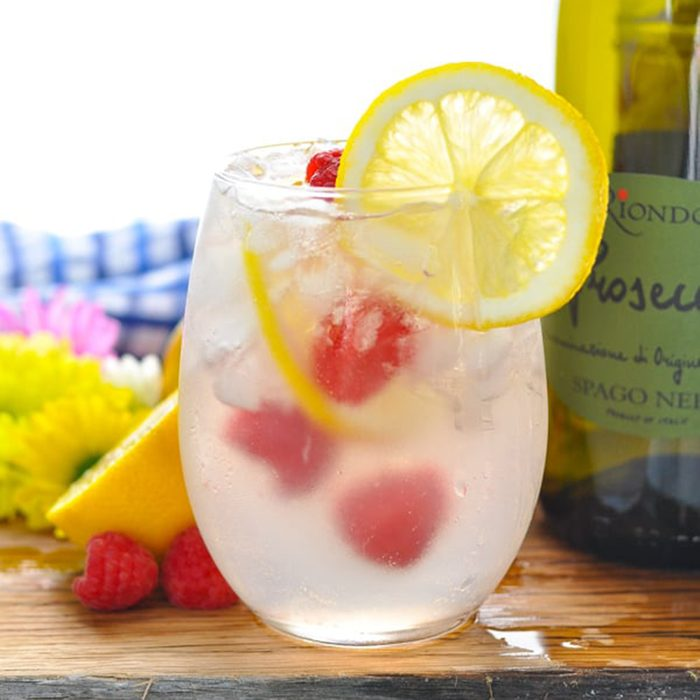 Pink Lemonade Italian Spritz Cocktail