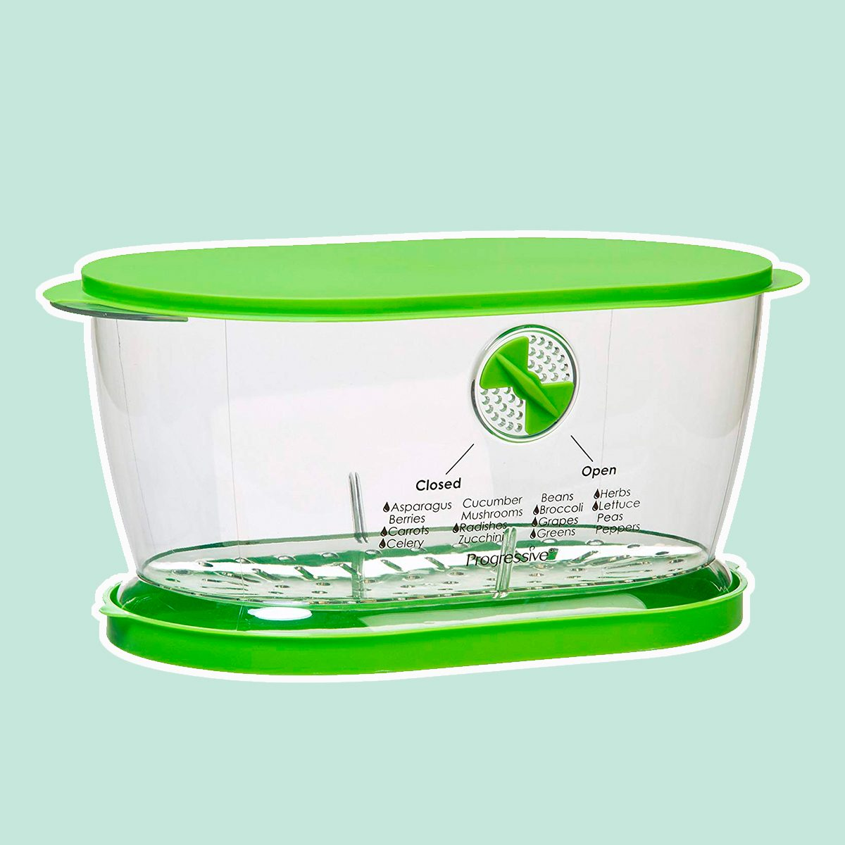 Prep Solutions by Progressive Lettuce Keeper Produce Storage Container, 4.7 Quarts