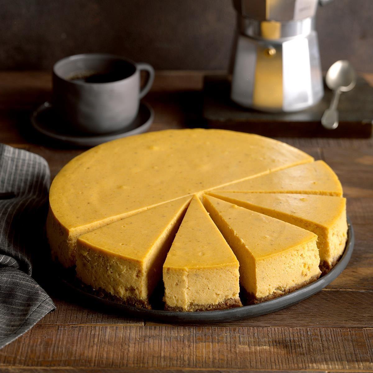 West Virginia: Pumpkin Spice Cheesecake