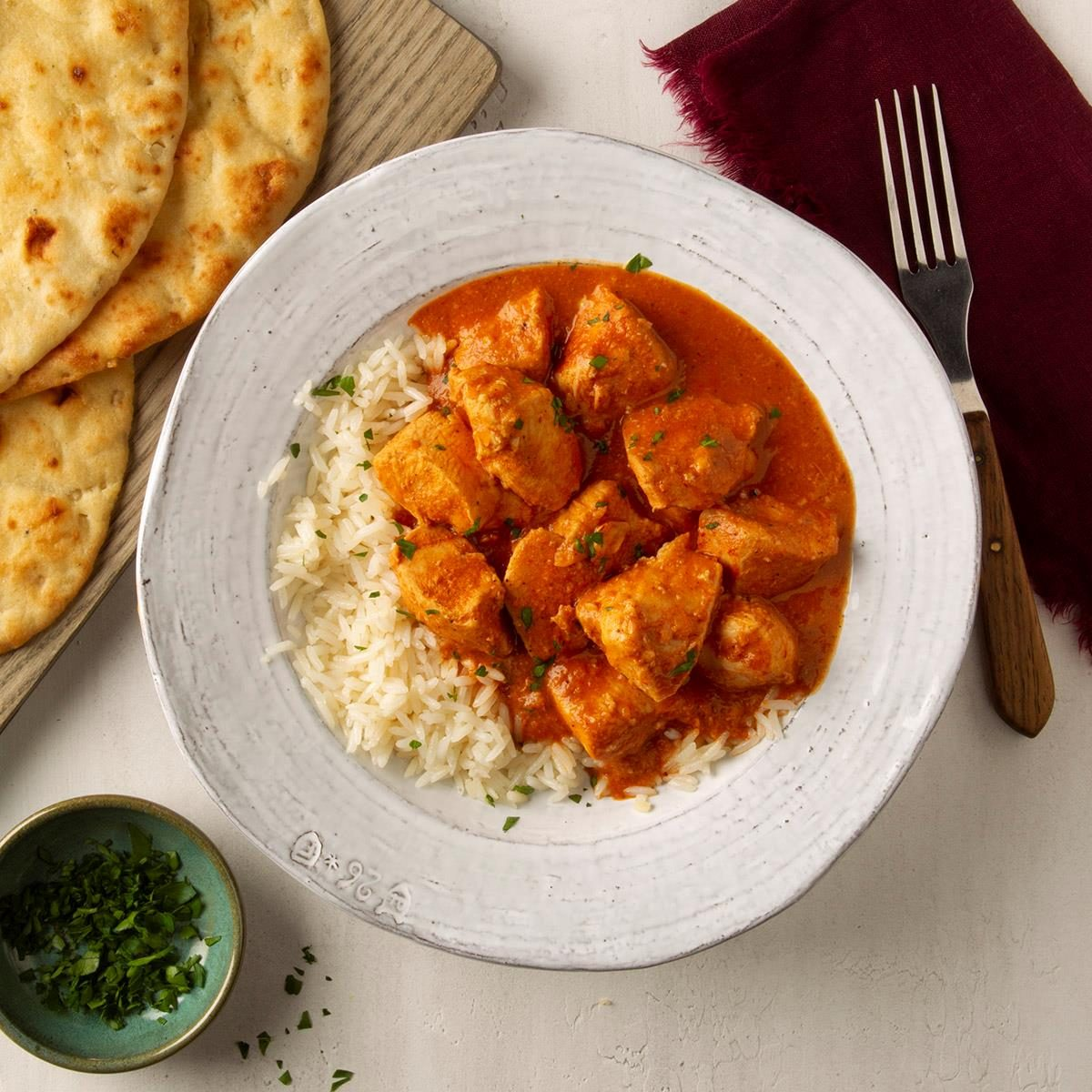 Sunday: Slow-Cooker Butter Chicken