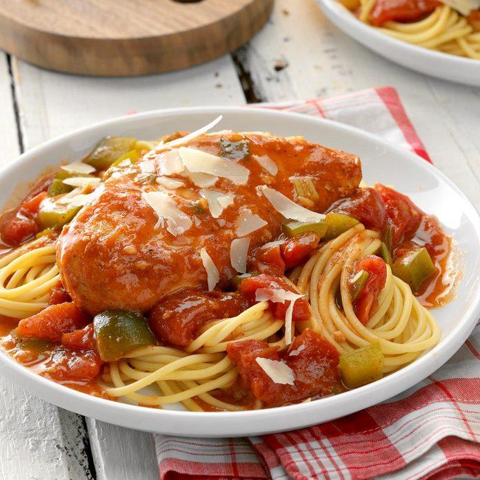 Slow-Cooker Italian Chicken