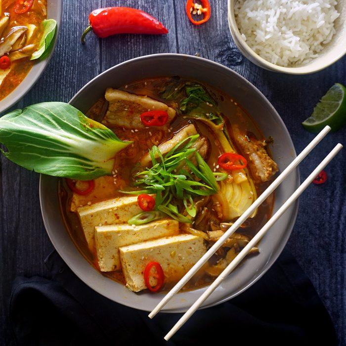 Kimchi Soup (Kimchi Jjigae)