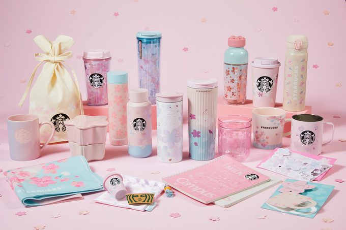 Starbucks Cherry Blossom Collection 2021