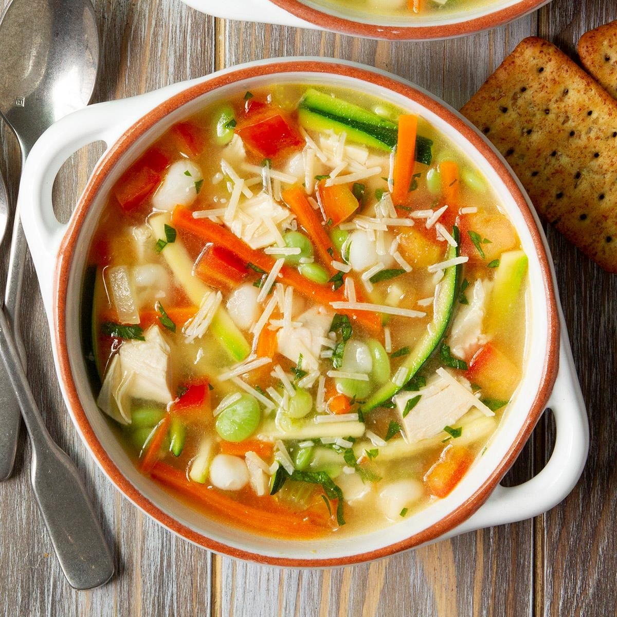 Quick and Healthy Turkey Veggie Soup