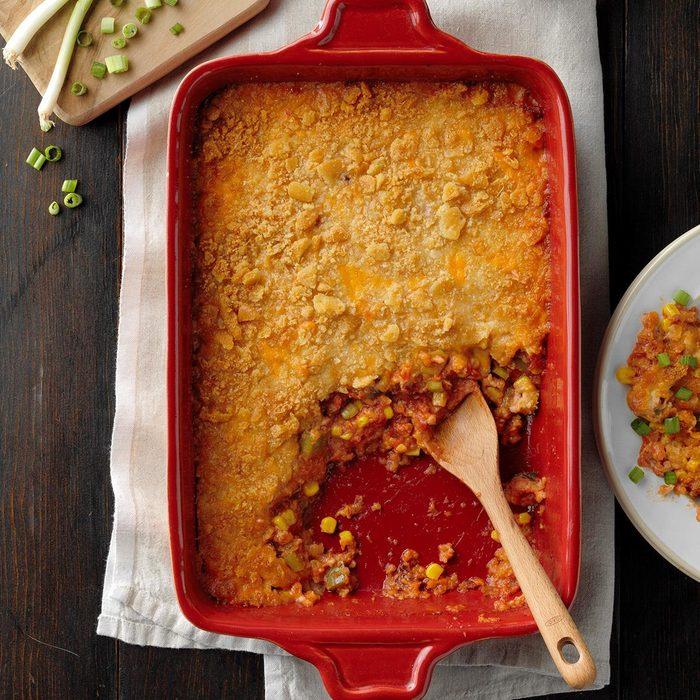 Tomato & Corn au Gratin