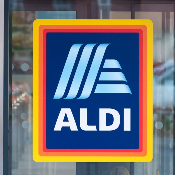 CARDIFF, UNITED KINGDOM - AUGUST 30: An Aldi shop sign seen on August 30, 2018 in Cardiff, United Kingdom. (Photo by Matthew Horwood/Getty Images)