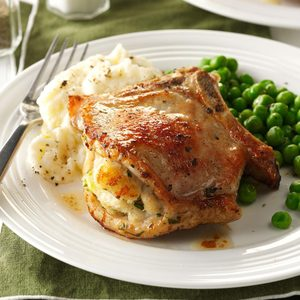 Air-Fryer Stuffed Pork Chops