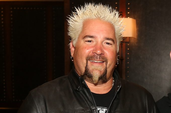 Guy Fieri visits his Chophouse Restaurant at Bally's Atlantic City on Wednesday October 14, 2015 in Atlantic City, New Jersey.
