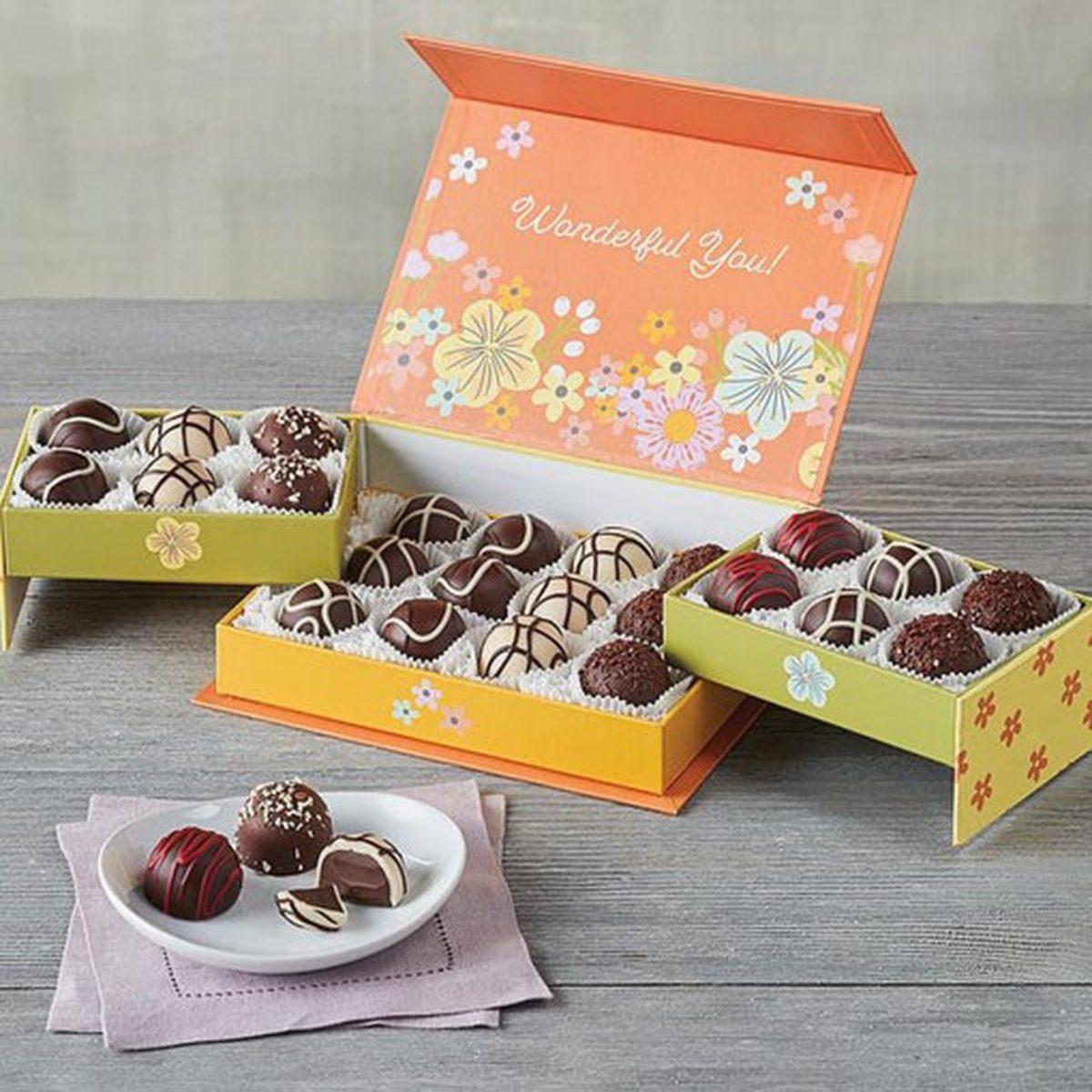 Mother's Day Keepsake Box with Chocolate Truffles