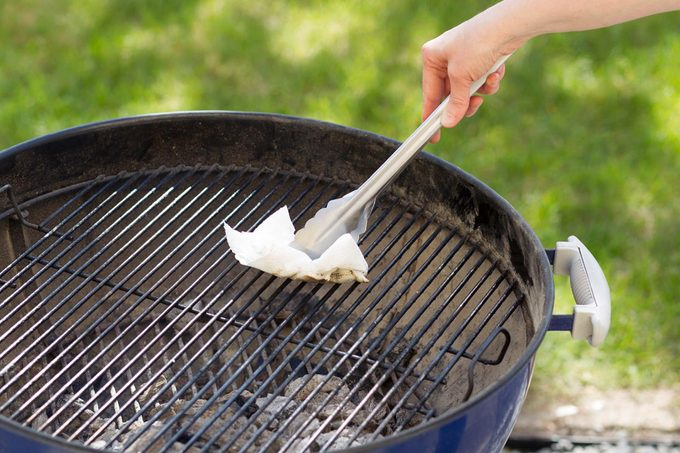greasing grill