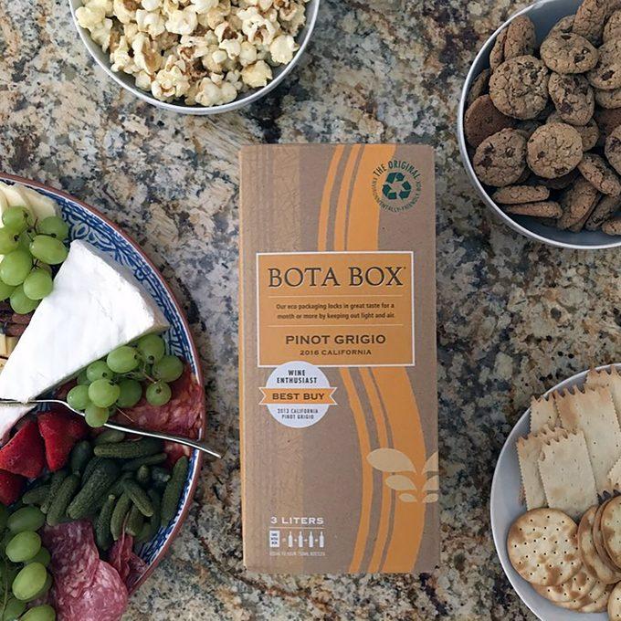 Bota Box Pino Grigio wine