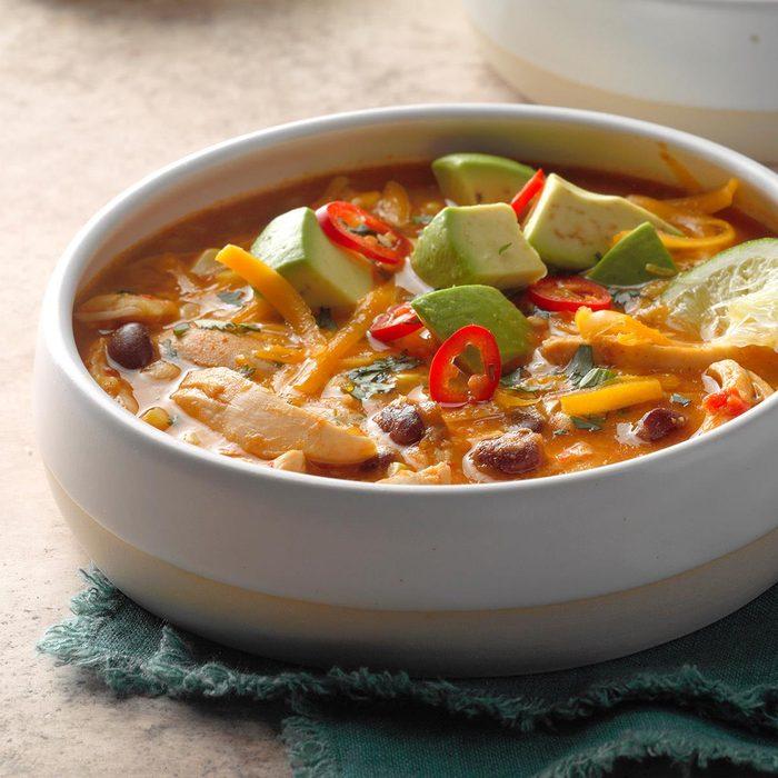 Chicken Tomatillo Soup