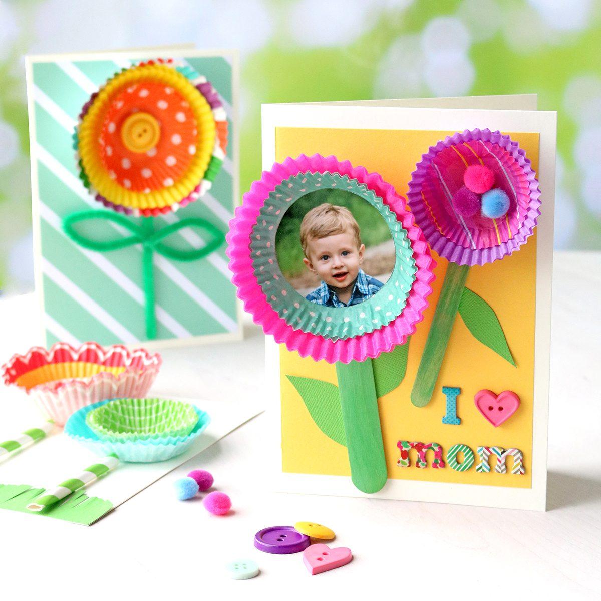 Cupcake Liner Card