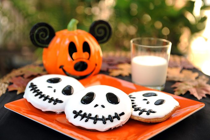 Disney halloween cookies