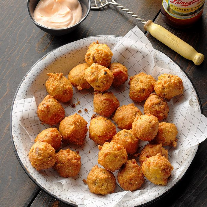 July 16: National Corn Fritter Day