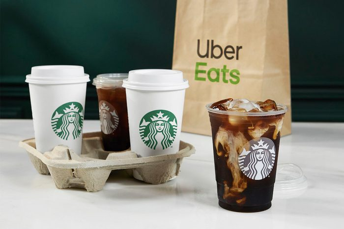 Now You Can Send Starbucks to Your Friends, Courtesy of Uber Eats