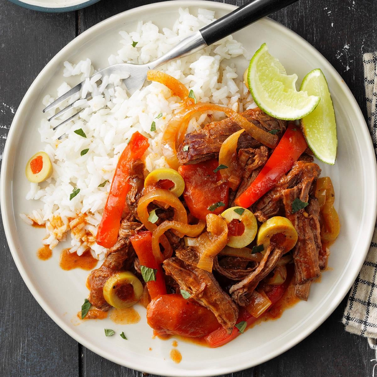 October 11: Slow-Cooked Ropa Vieja