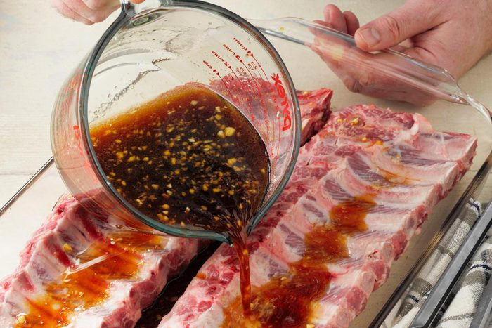 marinading ribs