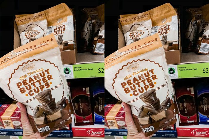 Bag of peanut butter cups from Aldi