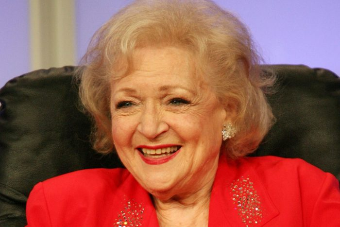BEVERLY HILLS, CA - JULY 10: Actress Betty White speaks during the PBS portion of the Television Critics Association Press Tour at the Beverly Hilton Hotel on July 10, 2007 in Beverly Hills, California. (Photo by Frederick M. Brown/Getty Images)