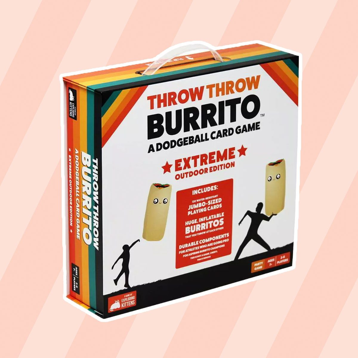 Throw Throw Burrito Game: Extreme Outdoor Edition
