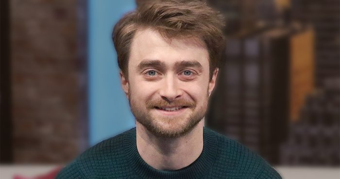 NEW YORK, NEW YORK - DECEMBER 06: (EXCLUSIVE COVERAGE) Actor Daniel Radcliffe visits People Now on December 06, 2019 in New York, United States. (Photo by Jim Spellman/Getty Images)