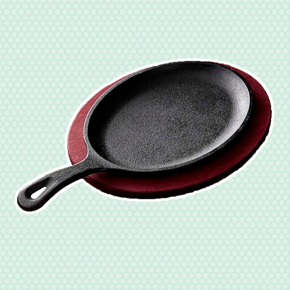 Lodge Cast-Iron Fajita Set